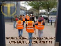 TRAFFIC BANKSMAN/ MARSHALL | FIRE SAFETY | FIRST AID | Only £65.00 - PTS -COURSES 02074761111