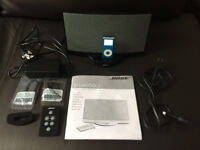Bose SoundDock series 1 Digital Music System Black iPod iPhone 30 pin Dock