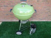Used, good condition Weber Original 57cm Premium Charcoal BBQ
