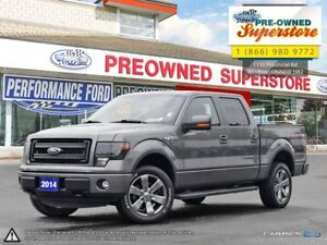 2014 Ford F-150 FX4***leather, NAV, sunroof***