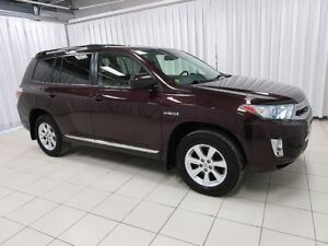 2012 Toyota Highlander Hybrid RARE AND SOUGHT AFTER !!! FOUR WHE