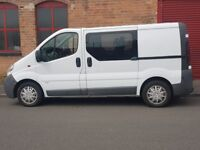 VAUXHALL VIVARO 1,9 CDTI DOUBLE SLIDE DOORS 6 SEATER CREW CAB EXCELLENT CONDITION DRIVES PERFECT