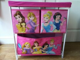 Disney Princess storage unit