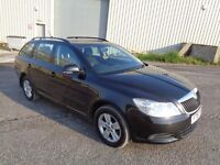 2011 SKODA OCTAVIA 1.6 TDI SE CR ESTATE 5 DOOR BLACK 1 LADY OWNER FROM NEW