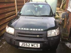 2002 Land Rover Freelander td4