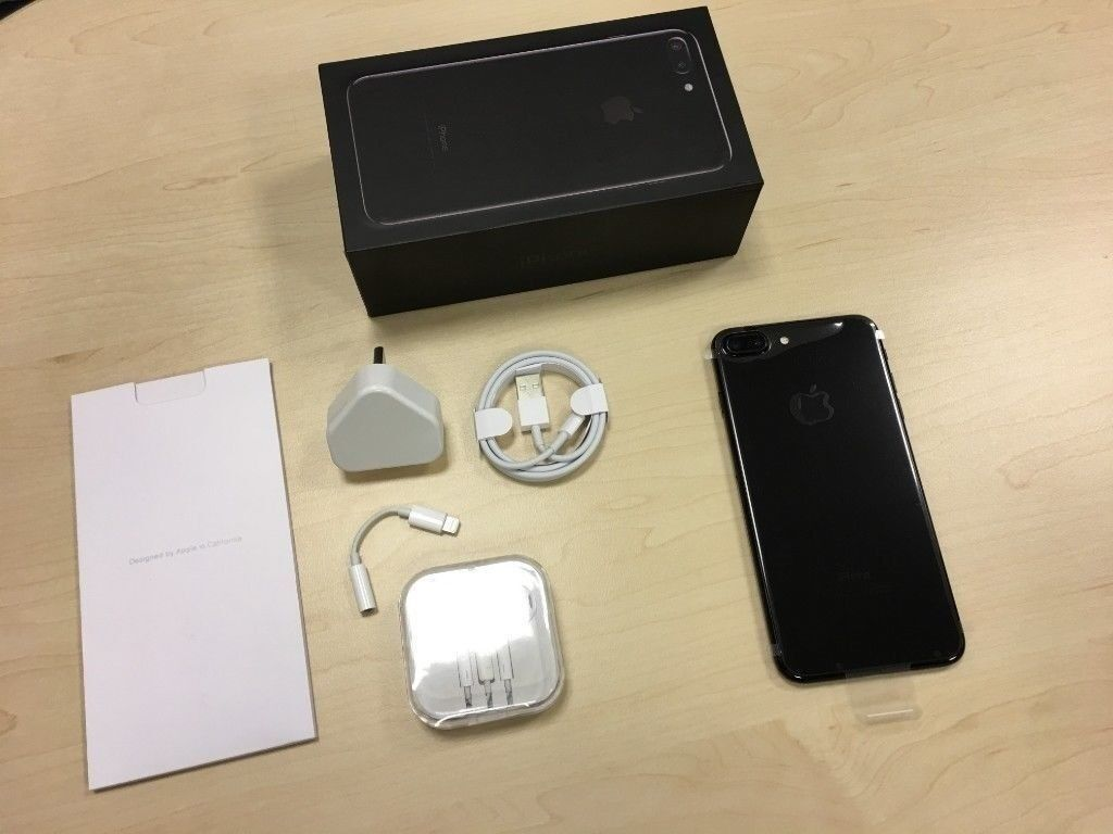 Jet Black Apple Iphone 7 Plus 32gb Factory Unlocked Mobile Phone