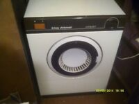TUMBLE DRYER , CREDA DEBONAIR COMPACT , SLIGHTLY SMALLER than USUAL, FITS IN A SMALL SPACE