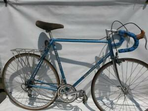 1980s Bianchi with aluminum shimano  Road Bike 61cm 27 inch wheels