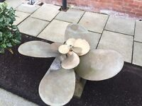Pure bronze propeller