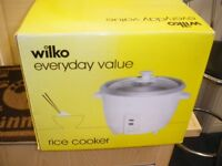 WILKO BRAND RICE COOKER at Haven Housing Trust's charity shop