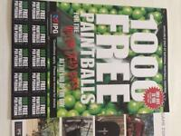 10 Delta force paintball tickets