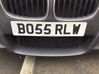 BO55 RLW - PRIVATE NUMBER PLATE