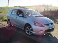 MITSUBISHI GRANDIS 2.4 CLASSIC COMFORT MIVEC 5d 6 Months Parts And Labour Warranty Years MOT