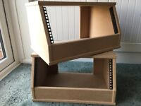 19 inch RACK UNITS - PAIR (as new, not used after purchase)