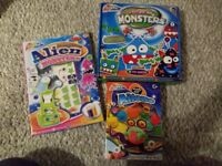 Childrens kids arts and crafts aliens and monsters