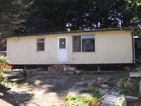 Twin unit mobile home off site Oxford area
