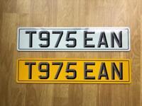 Private Plate For Sale (SEAN)