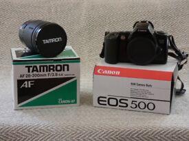 Canon EOS 500 Still Camera