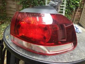 Volkswagen Golf Rear Light Unit Driver's Side Rear Lamp Unit 2011