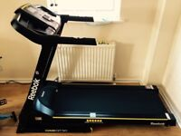 Reebok GT30 Treadmill used 3 months, manufacturer's 2 years guarantee