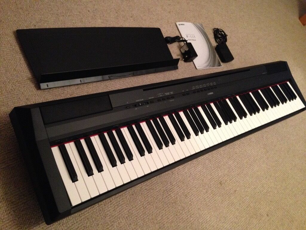 yamaha p115 p 115 p 115 digital piano mint condition like
