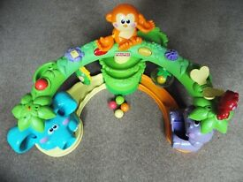 Fisher Price Crawl And Cruise Musical Jungle Playset