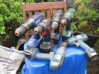 6 battery drills