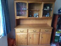 Display Cabinet - Solid Wood