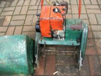 Suffolk Super Colt Petrol Lawn Mower Has Grass Box For Spares Or Repairs