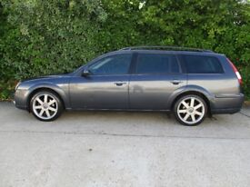FORD MONDEO ESTATE,TITANIUM X,TOP OF THE RANGE MODEL, 2.2 TDCI TURBO DIESEL, 155 BHP, 2006 MODEL.