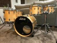 Ludwig Super Classic Maple 5 piece drum kit & cases
