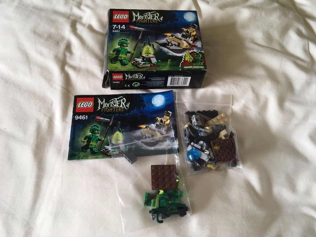 LEGO 9461 Monster Fighters - The Swamp Creature Set (Used)