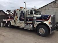 Freightliner heavy recovery truck
