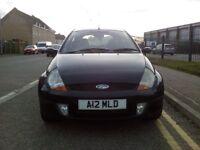 Ford ka sport 1.6 black no MOT starts & drives very well
