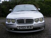 AUTOMATIC ROVER 75 CONNOISSEUR CDTI DIESEL. FULL SERVICE HISTORY. 2 OWNERS.