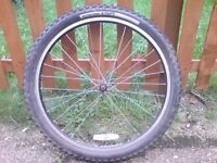 SPECIALISED 26 INCH FRONT WHEEL AND TYRE