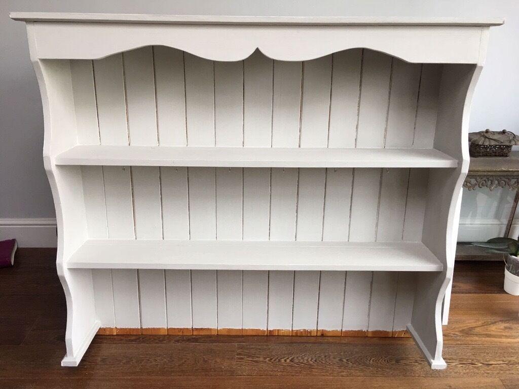 Solid Wood Wall Shelves Top Half Of Welsh Dresser In