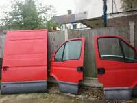 Iveco daily front doors