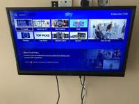 32 inch cello tv with wall bracket no stand
