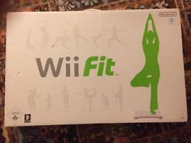 Wii Fit board, games and accessories