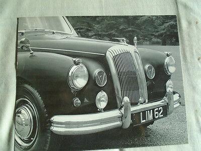 Daimler Limousine Press Photo brochure c1960's No 3