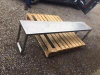 Sofa bed and catering equipment