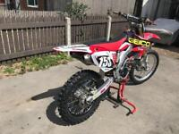 CRF250R SWAP ROAD LEGAL OR GILERA 180