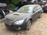 Subaru Outback 2.0 D REn 5dr (leather) grey (08 - 10) breaking for parts