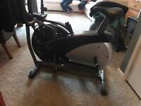 Body sculpture- air elliptical & bike