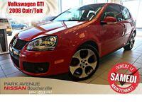 2008 Volkswagen GTI 3-Door Cuir * Toit * Manuelle