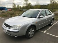 Ford Mondeo 2.0 Ghia , low mileage and MOT End March 2018