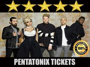 Discounted Pentatonix Tickets | Last Minute Delivery Guaranteed!
