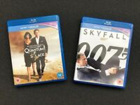 Skyfall and Quantum of Solace on Blu-ray and Digital HD UV