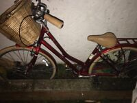Vintage bike for sale ride once and that was bringing back from shop I bought from